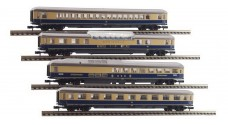 """ARNOLD 0147-04 K, 0147-05 K, 0147-03 K, 0147-02 K - Пассажирские вагоны """"Rheingold"""" - 1 класс + DSG"""
