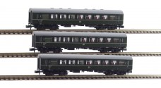 BRAWA 65038 K, 65039 K, 65040 K - Пассажирские вагоны 2 класса (REKO)