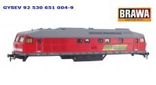 BRAWA - Корпус GYSEV 92 530 651 004-9