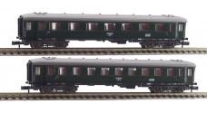 FLEISCHMANN 8131-8132 - Пассажирские вагоны тип 4ü - 1/2 и 3 класс