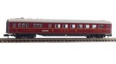 MINITRIX 15769-03 K - Пассажирский вагон-ресторан DSG тип WR4ü(e)-39